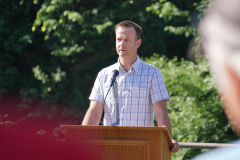 Markus Arnold (Verantwortlicher Anlagen) ist für die unfallfreien Sanierungsarbeiten dankbar